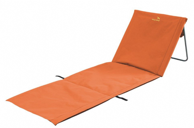 Easy Camp Sun Orange Beach Chair, Camp bed Sunbed - Grasshopper Leisure